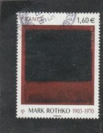 FRANCE 2016 MARK ROTHKO OBLITERE YT 5030 - France