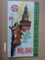 Carte Routière BP - ITALIE - 1962 - MILANO - Cartes Routières
