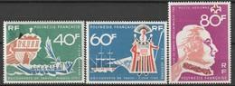 POLYNESIE - Poste Aérienne - PA N° 22/24 ** (1968) - Poste Aérienne
