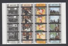 Francobolli S. Marino  1995 - Centenario Del Cinema - San Marino
