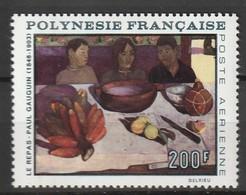POLYNESIE - Poste Aérienne - PA N° 25 ** (1968) P.Gauguin - Poste Aérienne