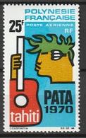 POLYNESIE - Poste Aérienne - PA N° 28 ** (1969) - Poste Aérienne