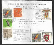 Equateur   1ere Liaison  Lisbonne - Paris 1958 - Equateur