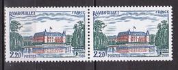 N° 2111 Série Touristique: Château De Rambouillet: 1 Paire De 2 Timbres Neuf - France
