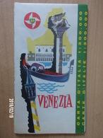 Carte Routière BP - ITALIE - 1962 - VENEZIA - Cartes Routières