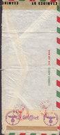Mexico CARRERE Y BIRE Via Aerea Transatlantico Del Norte 1944 Cover Letra 'OKW' German & British Censor Zensur Labels - México