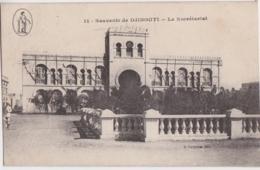 Cpa Souvenir De DJIBOUTI - Le Secrétariat - Djibouti