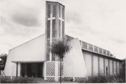 Photo Format Cpa Bénin - Eglise De Cotonou - Benin
