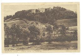 """MIREPOIX - Chateau Féodal De TERRIDE - Cachet Militaire """" 504° Rgt De Chars...""""  (111688) - Mirepoix"""