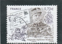 FRANCE 2017 A.A. MARTY OBLITERE A DATE  - YT 5190 - France