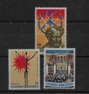 2 Series De Grecia Nº Yvert 1506 Y 1507/08 ** - Grecia