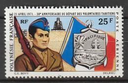 POLYNESIE - Poste Aérienne - PA N° 47 ** (1971) - Poste Aérienne