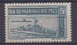 Brazil 1969 Dia Do Marinheiro / Naval Day 1v ** Mnh (41872) - Brazilië