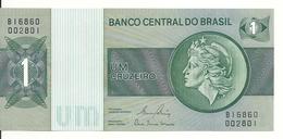 BRESIL 1 CRUZEIRO ND 1972-80 UNC P 191A C - Brésil