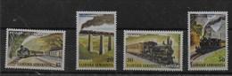 Serie De Grecia Nº Yvert 1540/43 ** TRENES (TRAINS) - Grecia