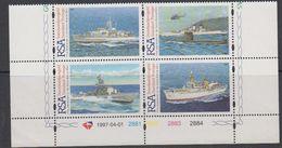 South Africa 1997 Navy 4v (+margin) ** Mnh (41872A) - Zuid-Afrika (1961-...)