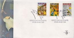 Aruba Set On FDC - Art