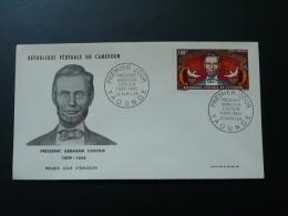 President Lincoln FDC Cameroun 1965 - Cameroun (1960-...)