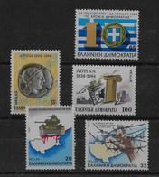 3 Series De Grecia Nº Yvert 1546, 1544/45 Y 1547/48 ** - Grecia