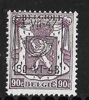 België Typo Nr. 573 - Preobliterati