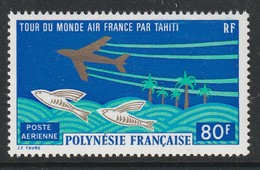 POLYNESIE - Poste Aérienne - PA N° 73 ** (1973) - Poste Aérienne