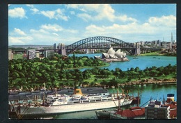"AUSTRALIA - SYDNEY -"" MARIPOSA"" At Woolloomoolo With Harbour &  Opera - Ship -ed. KRUGER - Sydney"