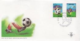 Aruba Set On FDC - World Cup