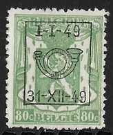 België Typo Nr. 593 - Preobliterati