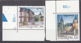 PGL AA0435 - LUXEMBOURG Yv N°1151/52 ** ARCHITECTURE - Unused Stamps