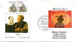 """BRD Schmuck-FDC  """"200. Jahrestag Der Uraufführung Von """"Wilhelm Tell"""", Mi. 2391 Aus Block 65 ZF ESSt 11.3.2004 BERLIN - BRD"""