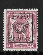 België Typo Nr. 607 - Preobliterati