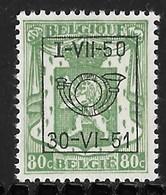 België Typo Nr. 608 - Preobliterati