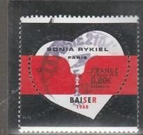 FRANCE 2018 SONIA RYKIEL PARIS BAISER OBLITERE A DATE - YT 5198 - France