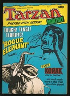 Tarzan Monthly # 4 - Published Byblos Productions Ltd. - In English - 1978 - TBE - Livres, BD, Revues