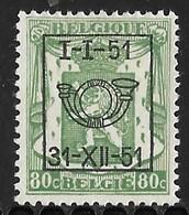 België Typo Nr. 613 - Preobliterati
