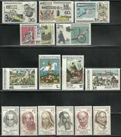 Tchécoslovaquie - Czechoslovakia - Lot Timbres Neufs ** MNH - 3 Séries Complètes - Timbres De 1970 - Tchécoslovaquie