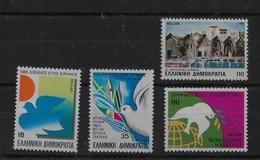 2 Series De Grecia Nº Yvert 1614 Y 1615/17 ** - Grecia