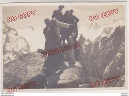 Au Plus Rapide Chamonix Mont Blanc Photographie Alpine Tairraz Bénédiction Vierge Grépon Abbé Vuarnet 22 Juin 1927 Rare - Lieux