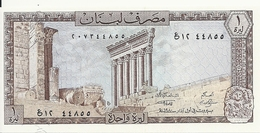 LIBAN 1 LIVRE 1964-80 UNC P 61 C - Libano