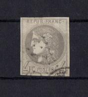 FRANCE EMISSION DE BORDEAUX   N° 41B - 1870 Bordeaux Printing