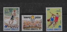 Serie De Grecia Nº Yvert 1629/31 ** DEPORTES (SPORTS) - Grecia