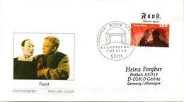 """BRD Schmuck-FDC  """"150. Jahrestag Der Uraufführung Von """"Faust II"""", Mi. 2392 Aus Block 65 ESSt 11.3.2004 BONN - BRD"""