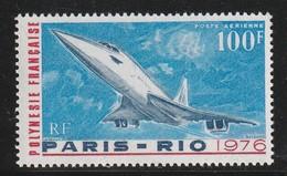 POLYNESIE - Poste Aérienne - PA N° 103 ** (1976) Concorde - Poste Aérienne