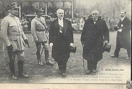 Le Président De La République à Metz Le 08 Décembre 1918 - Réceptions