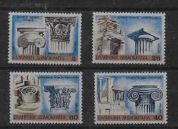 Serie De Grecia Nº Yvert 1643/46 ** - Neufs