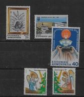 3 Series De Grecia Nº Yvert 1647/48, 1649 Y 1650/51 ** - Grecia