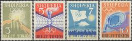 //// JO 1964 - ALBANIE - Yvert : 685 / 688** - Michel : 828 / 831** - Albanie
