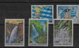 2 Series De Grecia Nº Yvert 1678/79 Y 1675/77 (A) ** - Grecia