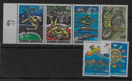 2 Series De Grecia Nº Yvert 1699/02 Y 1695/96 ** - Grecia