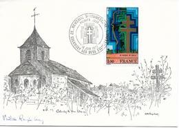 1941 - 5e ANNIVERSAIRE DU MÉMORIAL AU GÉNÉRAL DE GAULLE - 1er Jour - TTB - Postmark Collection (Covers)
